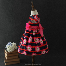wholesale clothing south africa flower girl dress cotton flower print dress