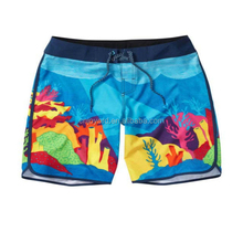 China OEM sublimation kid beach clothes with sea world pattern