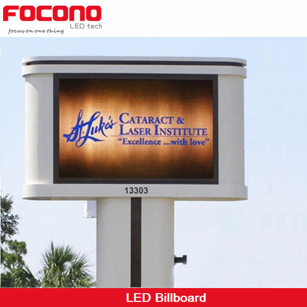 Good quality outdoor waterproof p10 led digital billboard for sale