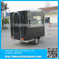 Yiying YY-FS220R Chinese factory supplier custom cheap cart mobile food stall