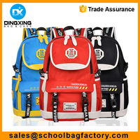 High school Backpack Student school bag travel backpack