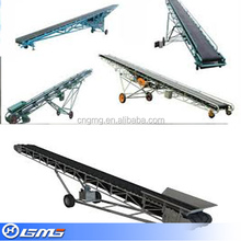 Adjusted direction mobile belt conveyor used in mining and cement industry