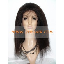 JFB HAIR Factory Free Style For Black Women half Hand Made Wig Top Grade Brazilian Virgin Hair Lace front Human Hair Wigs