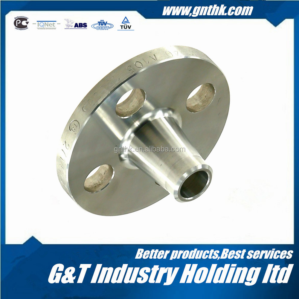 Chemical application DIN2573 lb400 long weld neck flange standard