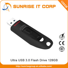 Light weight design high speed 128gb flash drive usb 3.0
