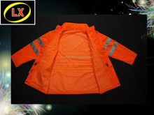 High Visibility Fluorescent Work Protective Clothing