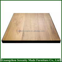 2016 custom made furniture inlay solid wood table top for sale