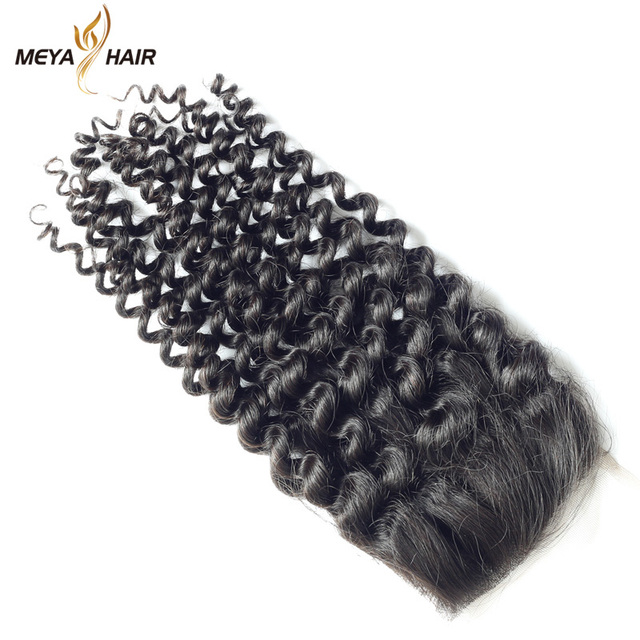 Aliexpress cuticle hair lace closure wig easy to dye curly for different style