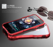 Original Design by Luphie 2 in 1 Aviation Aluminum Strong Bumper Metal Frame case for iphone 6 plus 5.5' 9 Colors