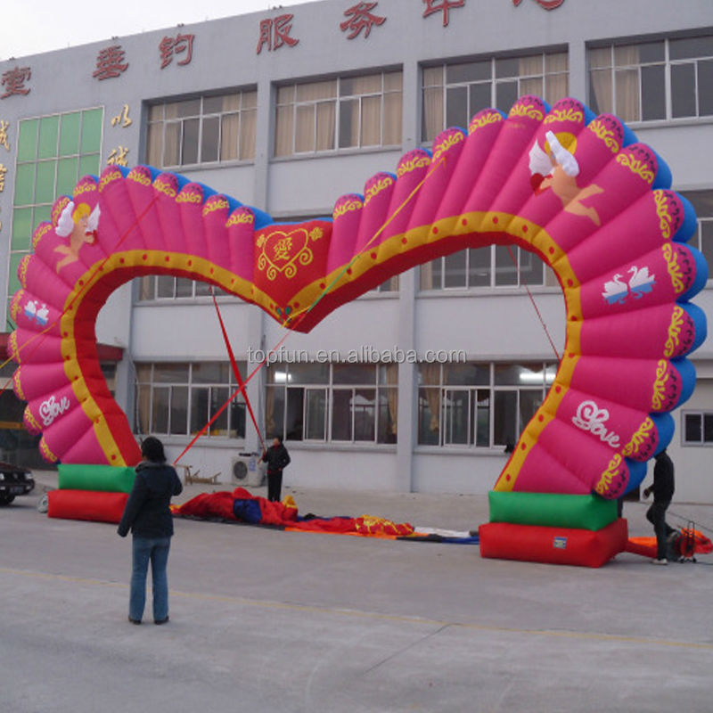 Inflatable Christmas Arch Inflatable Entrance Arch With LOGO Printing For Advertising