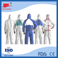 CAT3 Type 456 Disposable Microporous Film Coveralls workwear painting work suit Safety coverall
