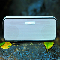 5w*2 wireless mini out bluetooth subwoofer speaker with hands-free