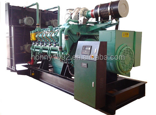 Oil Field use Diesel Natural Gas Mixed Fuel Generator Power Plant