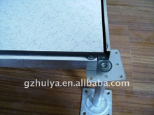 antistatic steel cementitious raised flooring with HPL/PVC/Ceramic tiles