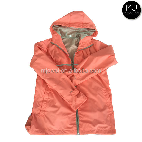 Wholesale Clothing Vintage Waterproof Womens Rain Coat