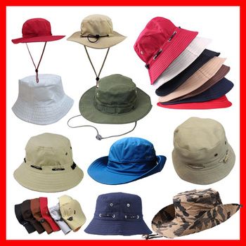 Plain Cotton bucket hat