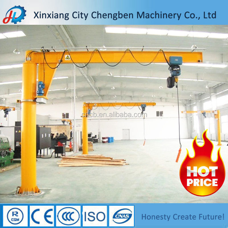 360Degree Rotate Wall Traveling Jib Crane for sale