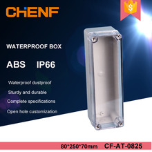 Strip waterproof junction box transparent cover abs plastic electric control box