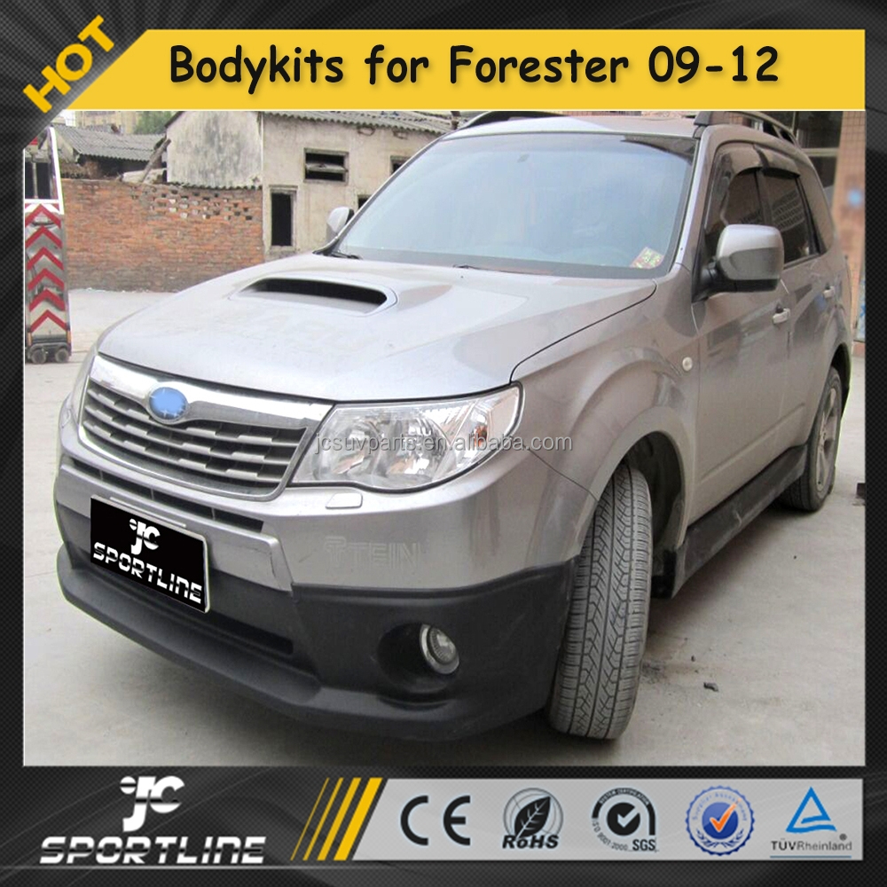 ABS Car Bodykits for Subaru Forester, Auto lip Styling Aftermarket kits 09-12
