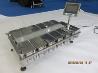 Weighing and combination scales for food