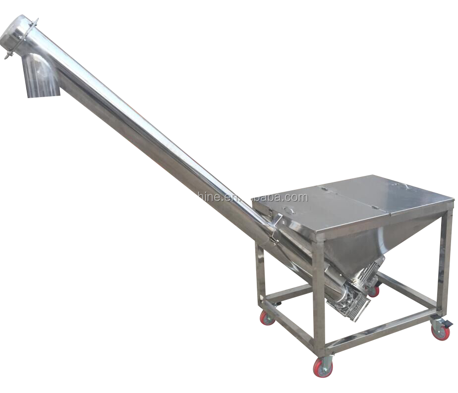 Low price professional auger spiral flexible screw conveyor