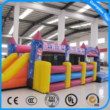 Guangqian Amusement Park Design Inflatable Mini Obstacle Combo Jumper