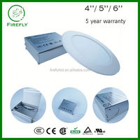 OEM available residential low profile led recessed panel light for insulated&drop ceiling