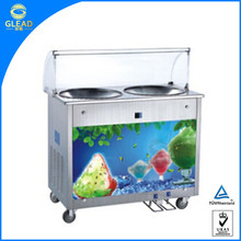 Factory supply cold plate fried ice cream machine
