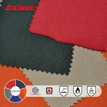 inherently aramid fabric for fire retardant coverall