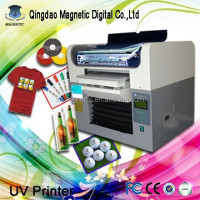 CE approved High speed digital flatbed printer with anajet printer price
