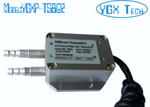 Pneumatic differential pressure transmitter 4-20mA 0-5V 1-5V 0-10V
