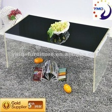 New product ideas /coffee table black glass C1211