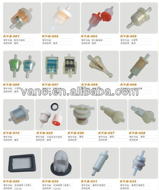 Hot sales paper motorcycle filter fuel