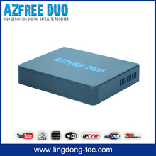 speed hd s1 satellite internet receiver iptv Azfree DUO with free iks sks for colombia