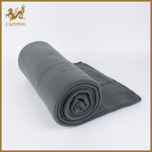 New Fashion cheap embossed soft poly knit fabric for blanket