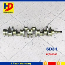 4D31 6D31 6D31T Engine Forged Crankshaft ME082505