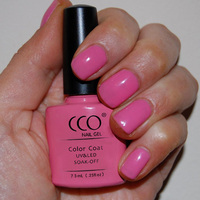 CCO Sea Coral One Step Gel soak off uv color gel nail polish