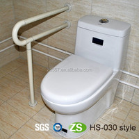 Clear plastic bars grab bar soap dish for disabled