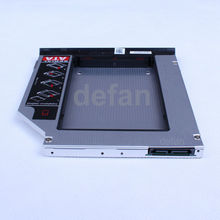 For DELL E6320 E6420 E6520 E6330 E6430 E6430S 9.5mm hard drive caddy with ejector and sata interface