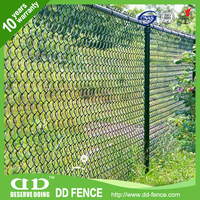 HIgh security galvanized chaining link fence for roll