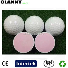 silk screen printing white 3 piece hot sale outdoor sport miniature golf
