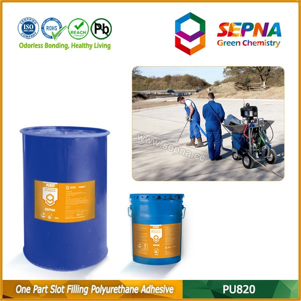 PU820 hot new products for 2016 sealant to repair road crack from manufactures