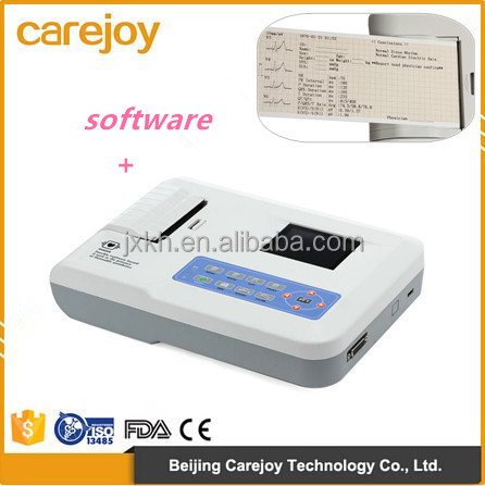 EKG-903BS China factory sale mini ecg machine, mobile ecg, monitor ecg