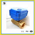 CWX-15 ss304 brass electric water valve dn8 - dn32 ADC9-24V BSP NPT