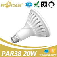 UL E26 Ultra Bright triac Dimmable PAR20 PAR30 PAR38 LED Light Bulb Energy star