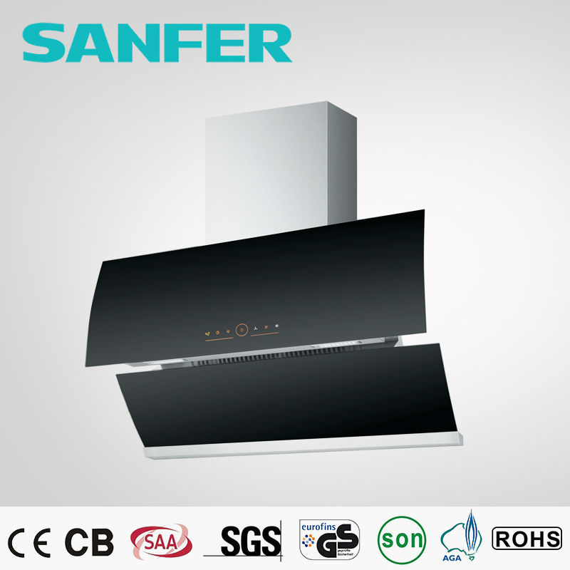 New Full Automatic Side Suction Kitchen Appliance Industrial Range Hoods