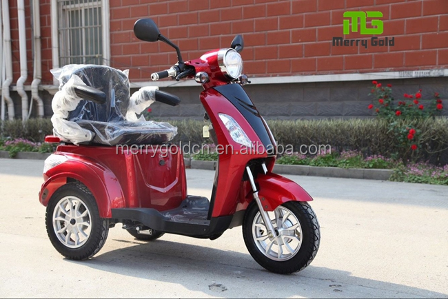 Three wheel cheap 500w electric trycycle for handicapped