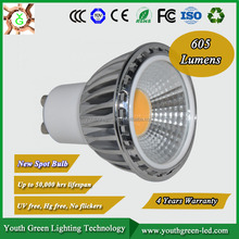 5 Years Warranty UL Energy Star Best Price high lumen dimmable 3w 4w 5w 7w cob gu10 mr16 gu5.3 osram cob led gu10 5w spotlight