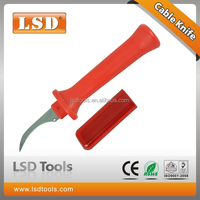 LS-56 cable cutting knife fixed hook blade,cable stripping tool