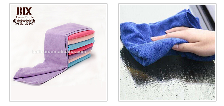 China Suppliers microfiber fabric yard for bath towel